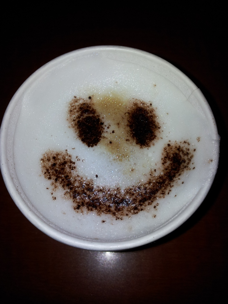 Cafe Latte Smile